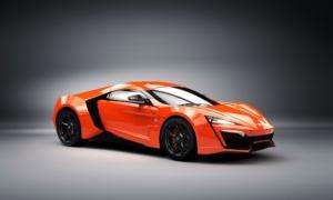 3.4 milionë dollarë – W Motors Lykan Hypersport në vendin e tretë