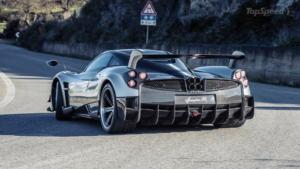 Pagani Huayra BC ka shitur rreth 100 të tilla deri tani, makina me motor V12 nga Mercedes-AMG.