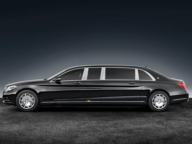 Mercedes Benz Maybach S 600